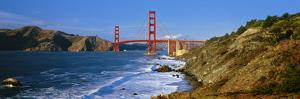Scenic view of the Golden Gate Bridge, San Francisco, California, USA by Panoramic Images