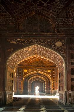 Taj Mahal interior, Agra, Uttar Pradesh, India by Panoramic Images