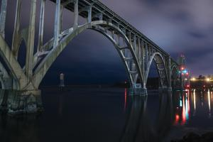 View of a bridge, Newport, Lincoln County, Oregon, USA by Panoramic Images