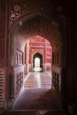 View of interior Taj Mahal, India by Panoramic Images