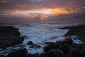 Waves braking on the coast, Coral Sea, Surfers Paradise, Queensland, Australia by Panoramic Images