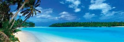 Panoramic Lagoon - Caribbean Sea