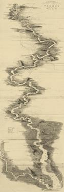 Panoramic Map of the Thames
