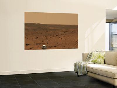 Panoramic View of Mars
