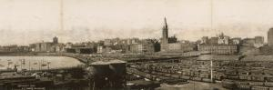 Panoramic View of the Port of Chicago