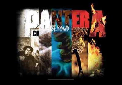 Pantera - Album Collage