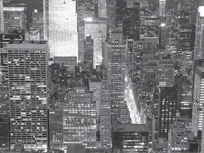 Night View of New York City-New York