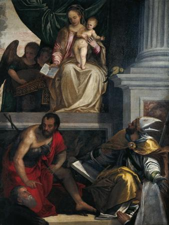 Madonna and Saints with Bevilacqua Lazise Donors