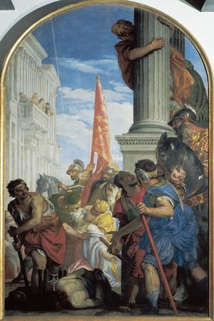Martyrdom of Saints Primo and Feliciano, 1562