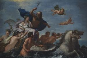 Triumph of Neptune and Amphitrite by Paolo de Matteis