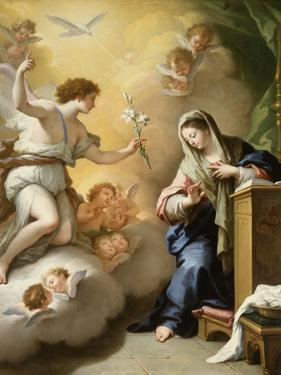 The Annunciation, 1712 by Paolo Di Matteis