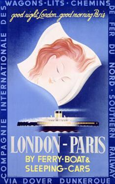 London to Paris by Paolo Federico Garretto