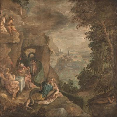 Landscape with a Scene of Enchantment, Ca 1590