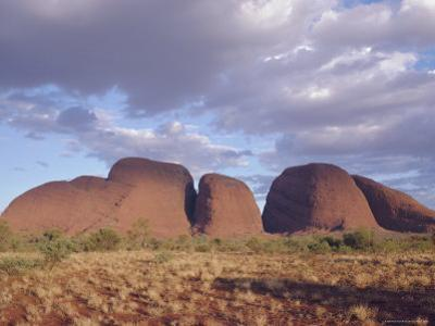 Mount Olga from the West, Northern Territory, Australia
