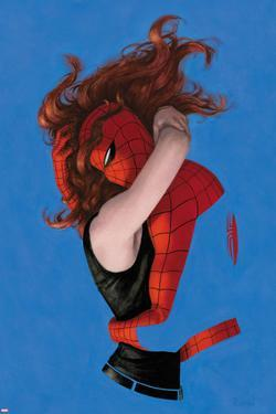 Amazing Spider-Man No.641 Cover: Spider-Man and Mary Jane Watson Hugging by Paolo Rivera