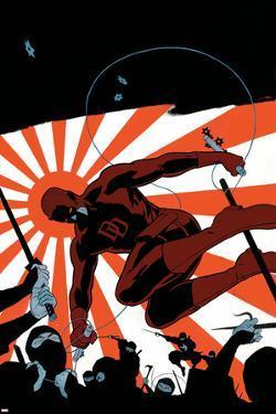 Daredevil No.505 Cover: Daredevil by Paolo Rivera