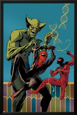 Superior Spider-Man Team-Up #2 Cover: Spider-Man, Scarlet Spider, Jackal by Paolo Rivera