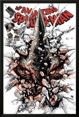 The Amazing Spider-Man No.617 Cover: Rhino by Paolo Rivera