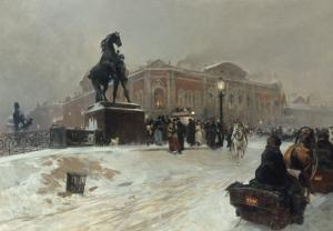 Twilight, St Petersburg by Paolo Sala