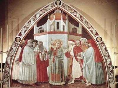 Disputation of St. Stephen, Scene from Stories of St. Stephen, 1435-1440