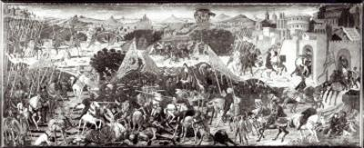 Romans and Gauls Fighting or the Battle in Front of the Gates of Rome