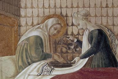 St Anne, Detail from Nativity of Virgin