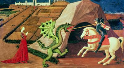 St. George and the Dragon, circa 1439-40