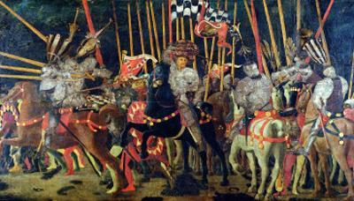 The Battle of San Romano in 1432, circa 1456