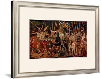 The Battle of San Romano, Right Panel, c.1454-57
