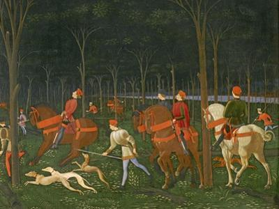 The Hunt in the Forest, C.1465-70 (Detail)