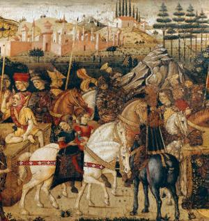 The Triumph of Julius Caesar by Paolo Uccello