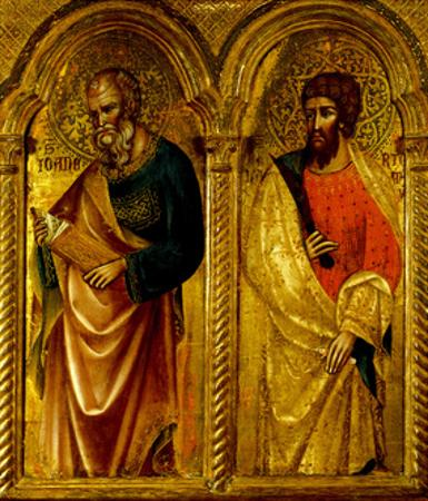 Apostles Saint James and Saint Bartholomew, Ca 1345