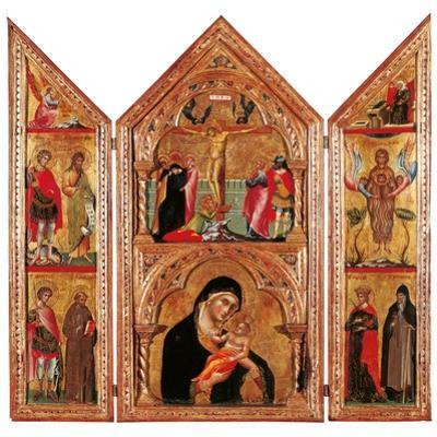 Movable Altarpiece (Triptych)