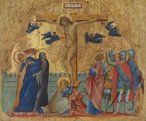 The Crucifixion, C.1340 by Paolo Veneziano