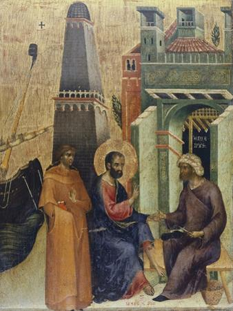 The Healing of Old Man, Detail of the Marciana Weekday Altarpiece