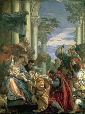 Adoration of the Magi, 1570S by Paolo Veronese