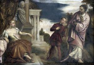 Choice Between Virtue and Passion by Paolo Veronese