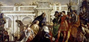 Family of Darius Before Alexander the Great (356-323 BC) by Paolo Veronese