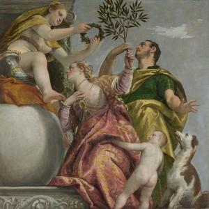 Happy Union (From: Four Allegories of Lov), Ca. 1575 by Paolo Veronese