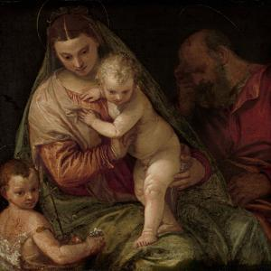 Holy Family with Young Saint John by Paolo Veronese