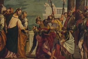 'Jesus Y El Centurio De Cafarnaun', (Jesus and the Centurion), 1571, (c1934) by Paolo Veronese