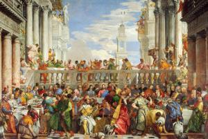 Marriage at Cana by Paolo Veronese