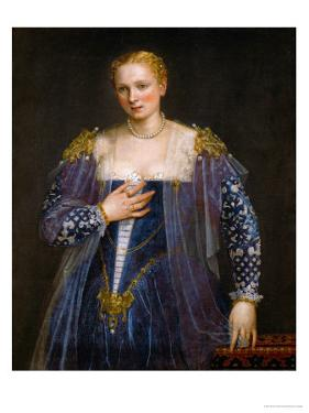 Portrait of a Woman, Called La Bella Nani by Paolo Veronese