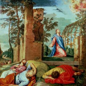 The Agony in the Garden by Paolo Veronese