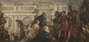 The Family of Darius before Alexander, C. 1565 by Paolo Veronese
