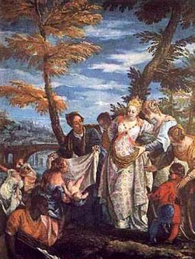 The Finding of Moses, c.1570-75 by Paolo Veronese