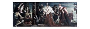The Madonna and the Cuccina-Family, 1571 by Paolo Veronese