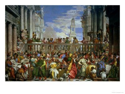 The Marriage Feast at Cana, circa 1562