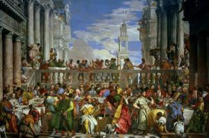 The Marriage Feast at Cana, circa 1562 by Paolo Veronese