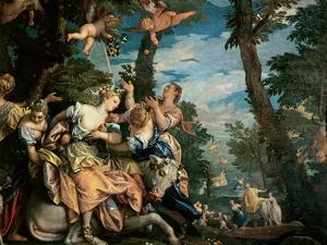 The Rape of Europa by Paolo Veronese
